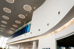 Reception area. Of the new International Airport Terminal in Gibraltar Royalty Free Stock Image