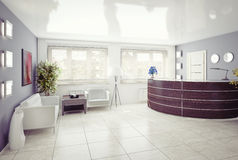 Reception area Royalty Free Stock Image