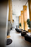 Reception Area of Luxury Hotel Stock Images