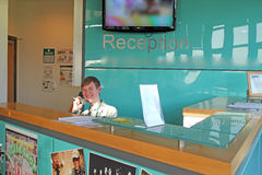 Reception Area Royalty Free Stock Photo