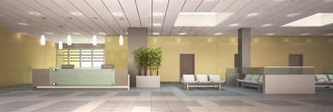 Reception area. Stock Photography