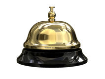 Reception bell. 3d render of Reception bell Stock Photos