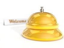 Reception bell vector illustration