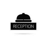 Reception bell icon vector illustration Royalty Free Stock Image