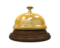 Reception Bell Isolated Stock Photography