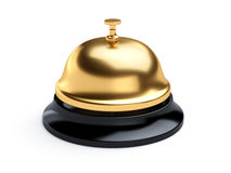 Reception bell isolated on white background Stock Photography