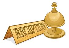 Reception Bell Stock Photos