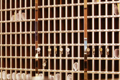 Reception cells royalty free stock photography