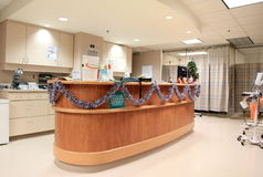 Reception Desk Stock Images