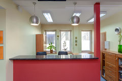 Reception desk Stock Image