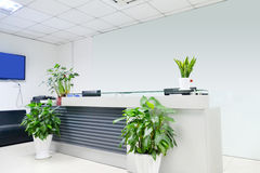 Reception empty Royalty Free Stock Images