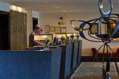 Reception in the Europe hotel in Killarney Ireland Royalty Free Stock Photo