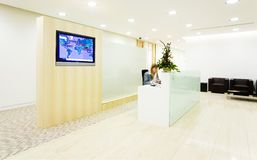 Reception hall. Of an office Royalty Free Stock Photos