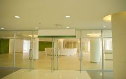 Reception hall. The modernization of the reception hall Royalty Free Stock Photo