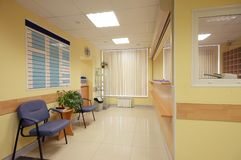 Reception in hospital Stock Photos