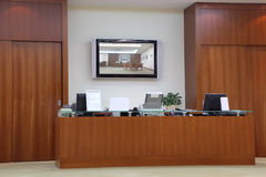 Reception i empty office Stock Photography