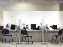 Reception information center Royalty Free Stock Images