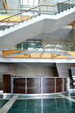 Reception and lobby. Empty lobby and reception desk Royalty Free Stock Image