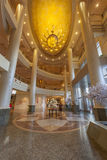 Reception and lobby in Miracle grand convention hotel. Stock Image
