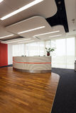 Reception in modern office Royalty Free Stock Photography
