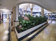 Reception of NH Parque Central. Havana. Cuba Royalty Free Stock Photo
