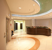 Reception office Stock Photography
