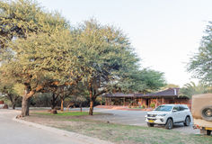 Reception offices in the Waterberg Plateau National Park near Ot Stock Photos