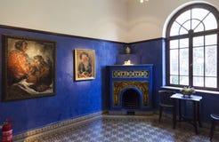 Reception room. Bet Bialik House museum. Tel Aviv, Israel. Stock Image