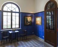 Reception room. Bet Bialik House museum. Tel Aviv, Israel. Stock Photo