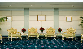 Reception room in a hotel Royalty Free Stock Photography
