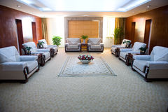 Reception room in a hotel Stock Photography