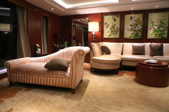 Reception room in a hotel. Royalty Free Stock Photo