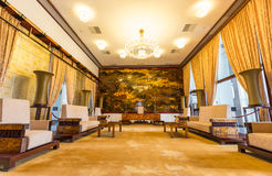 Reception room at the Reunification Palace, Ho Chi Stock Photography