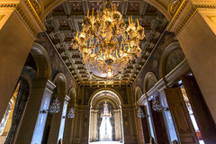 Reception rooms of the city hall, Paris, France Stock Photography