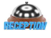 Reception sign Royalty Free Stock Photography