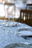 Reception table Royalty Free Stock Photos