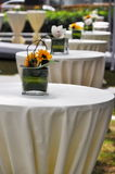 Reception tables Stock Photos