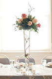 Reception tables Royalty Free Stock Photo