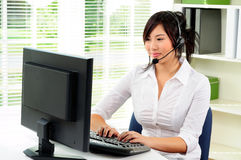 Receptionist Stock Photography