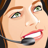 Receptionist Immagine Stock