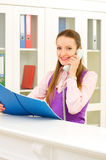 Receptionist Royalty Free Stock Images