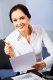 receptionist Royaltyfria Bilder