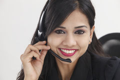 receptionist стоковое изображение rf