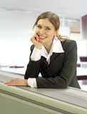 Receptionist Royalty Free Stock Photography