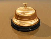 Receptionist bell Royalty Free Stock Image