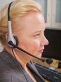 Receptionist femminile Immagine Stock Libera da Diritti