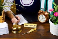 Receptionist Stock Photography