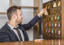 The Receptionist Stock Photos