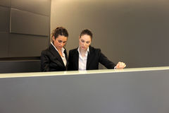 Receptionists Stock Photography