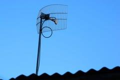 Receptor de la antena imagen de archivo libre de regalías